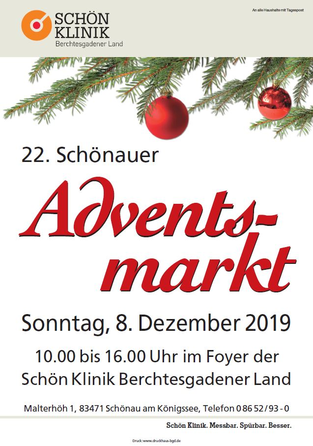 Adventsmarkt Schön Klinik