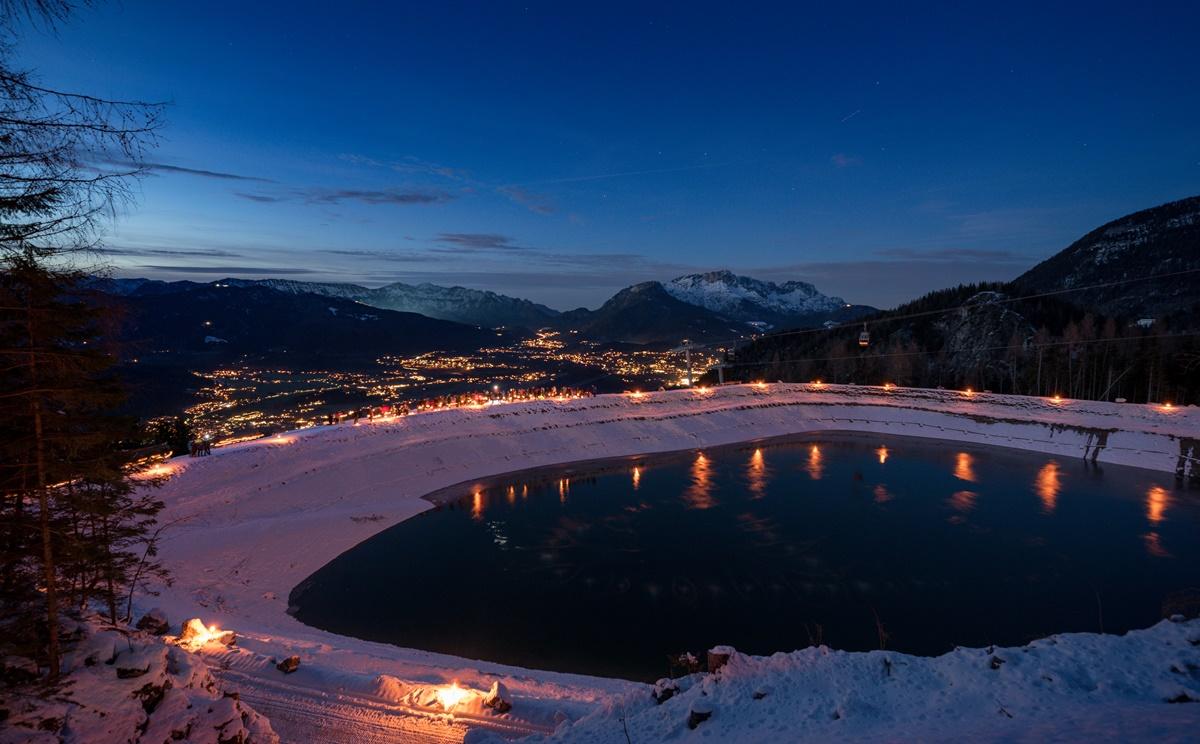 Blick in den Berchtesgadener Talkessel