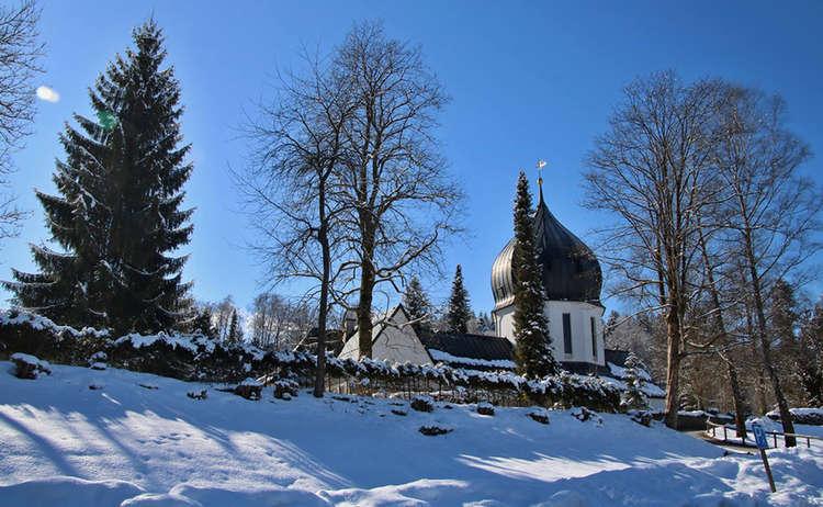Bergfriedhof in Schönau a. Königssee