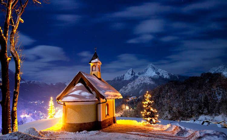 Berg Advent Berchtesgaden Kapelle