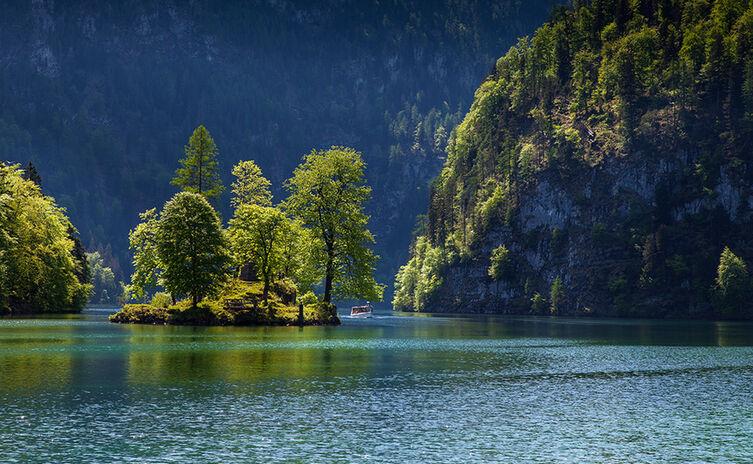 Christlieger: Insel im Königssee