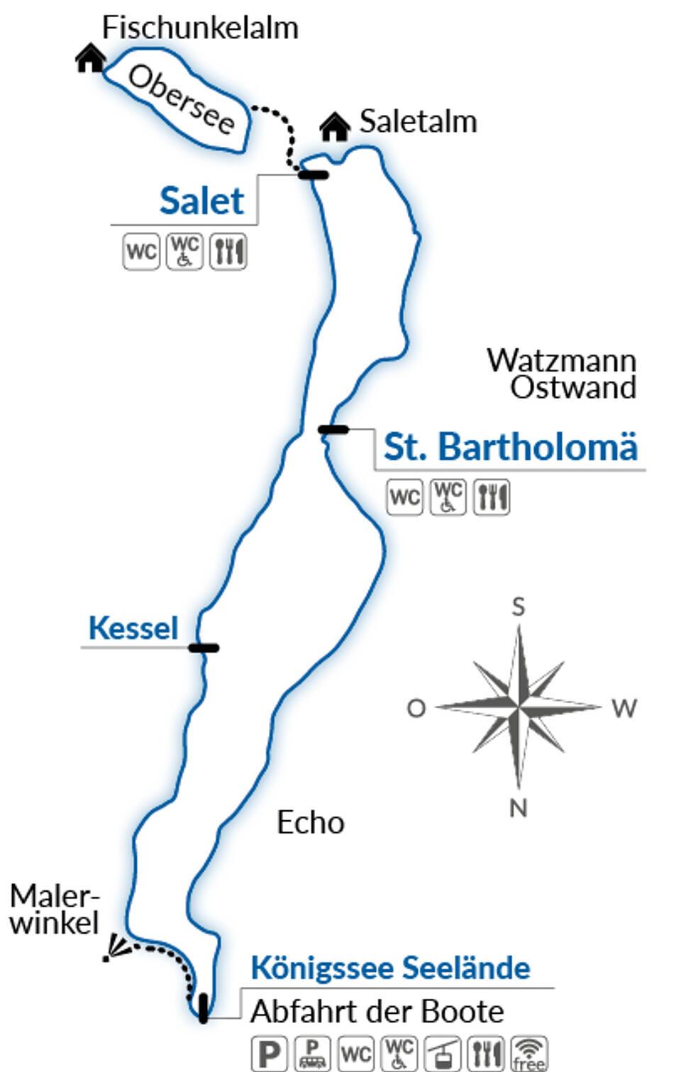 Skizze Königssee