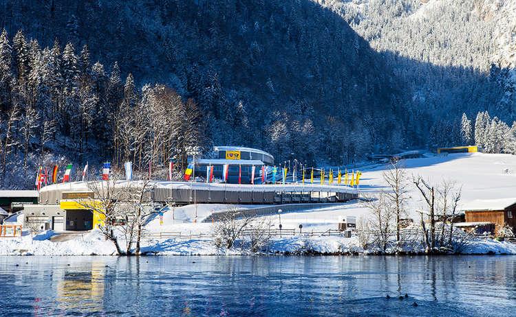 Die Lotto Bayern Eisarena am Königssee