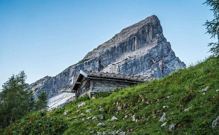 Klettersteigset Verleih Berchtesgaden : Bergtour von hammerstiel zum watzmannhaus