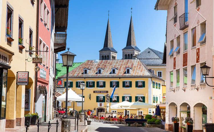 Fußgängerzone Berchtesgaden