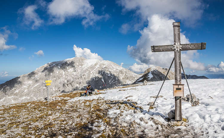Gipfelkreuz Hohes Brett 1