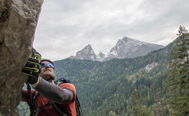 Im Grünstein Klettersteig