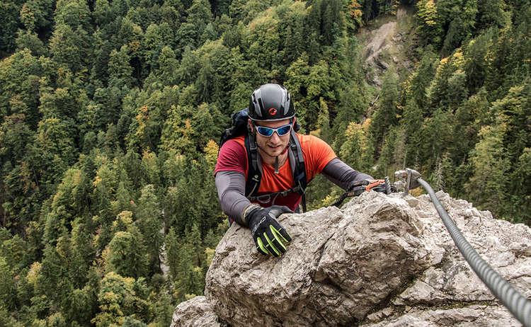 Gruenstein Klettersteig Schoenau Koenigssee