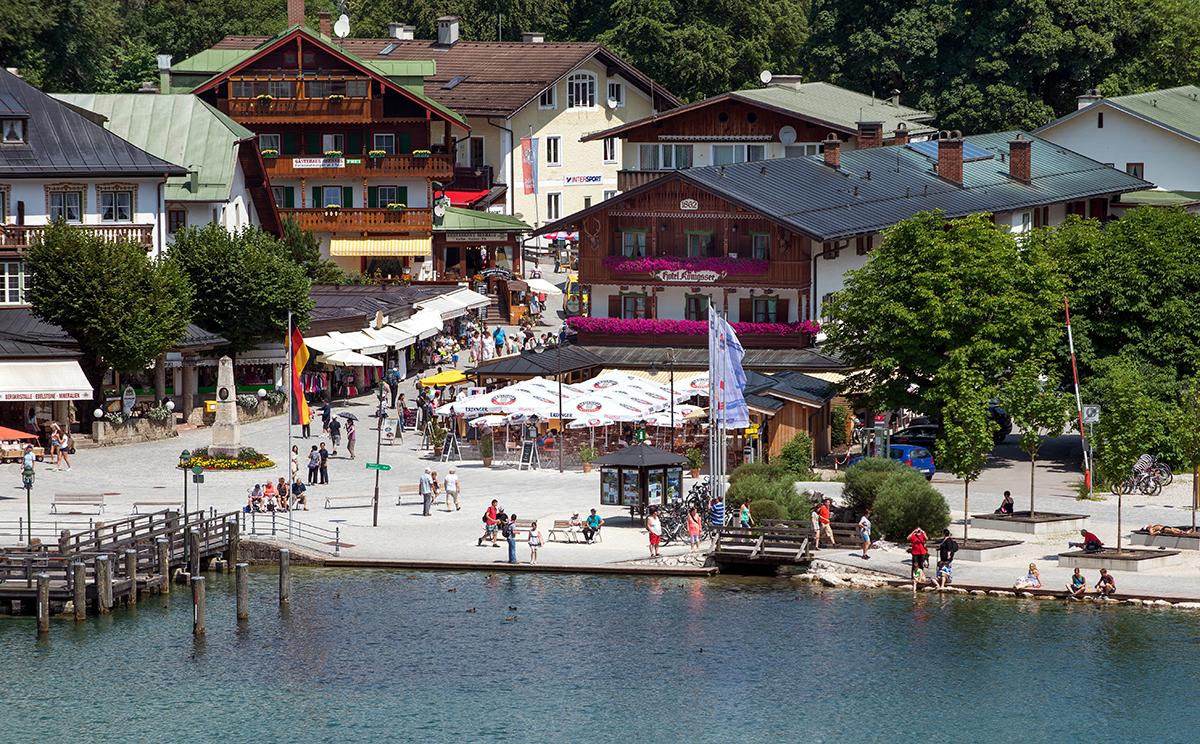 Hotel Koenigssee Restaurant Gastgarten 1