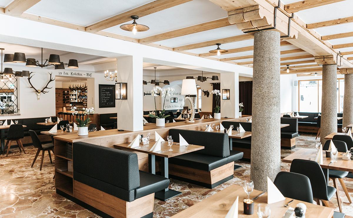 Hotel Koenigssee Restaurant Gastgarten 3