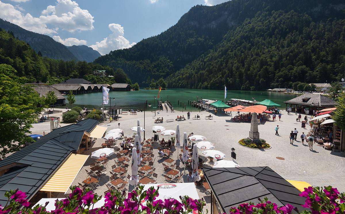 Hotel Koenigssee Restaurant Gastgarten 5