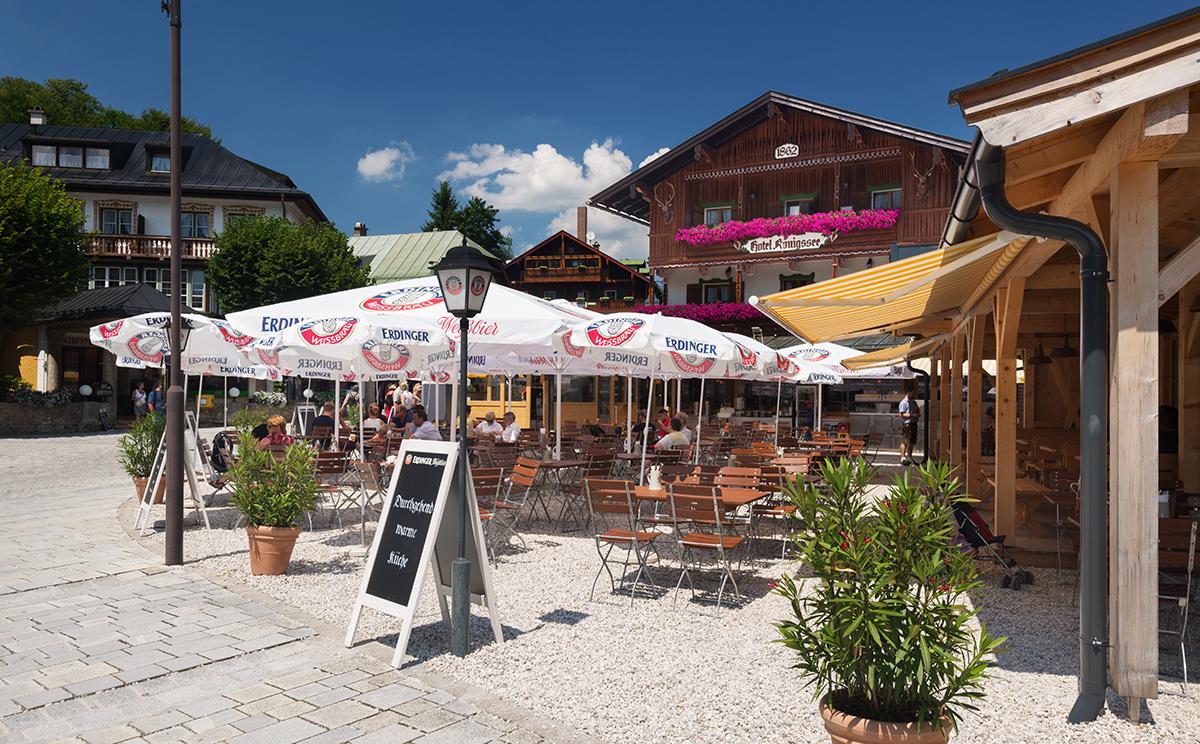 Hotel Koenigssee Restaurant Gastgarten