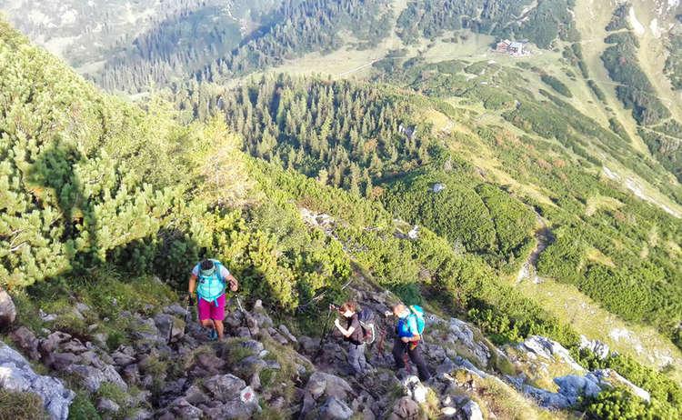 Kleine Reibn Aufstieg Zum Schneibstein
