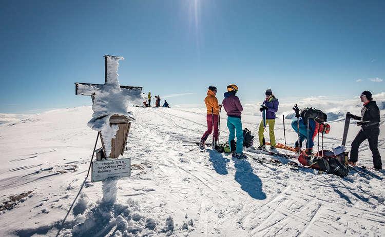Kleine Reibn Skitour Schneibstein