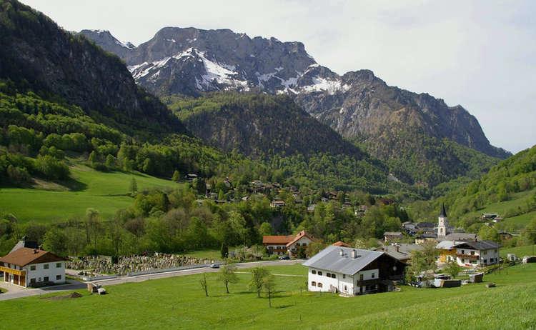 Klettersteigset Verleih Berchtesgaden : Radwege in schönau am königssee