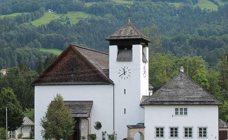 Pfarrkirche Pfarrhaus Unterstein