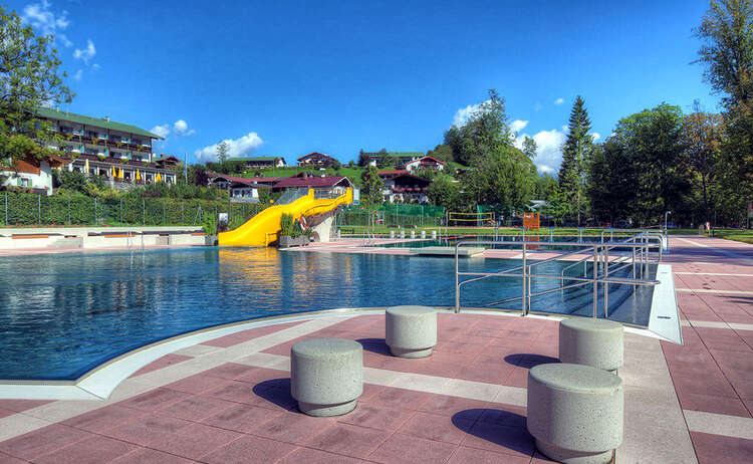 Das Schornbad: Freibad iN Schönau a. Königssee
