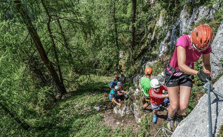 Klettersteig auf den Kleinen Jenner