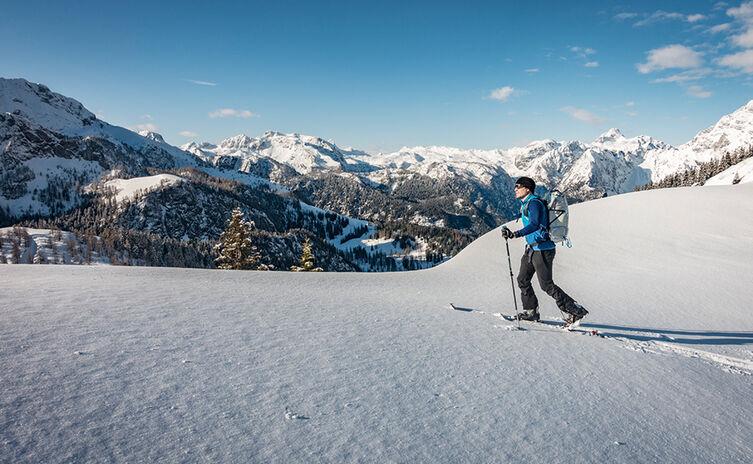 Skitour im freien Gelände