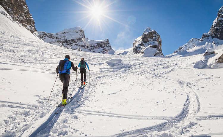 Skitour Watzmann Kar Drittes Kind
