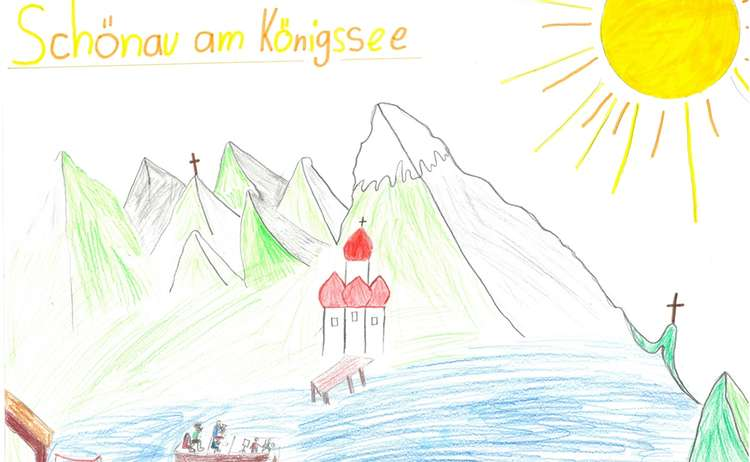 Ein sonniger Tag am Königssee