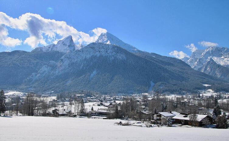 Sulzbergkopf Winterwanderung Watzmann