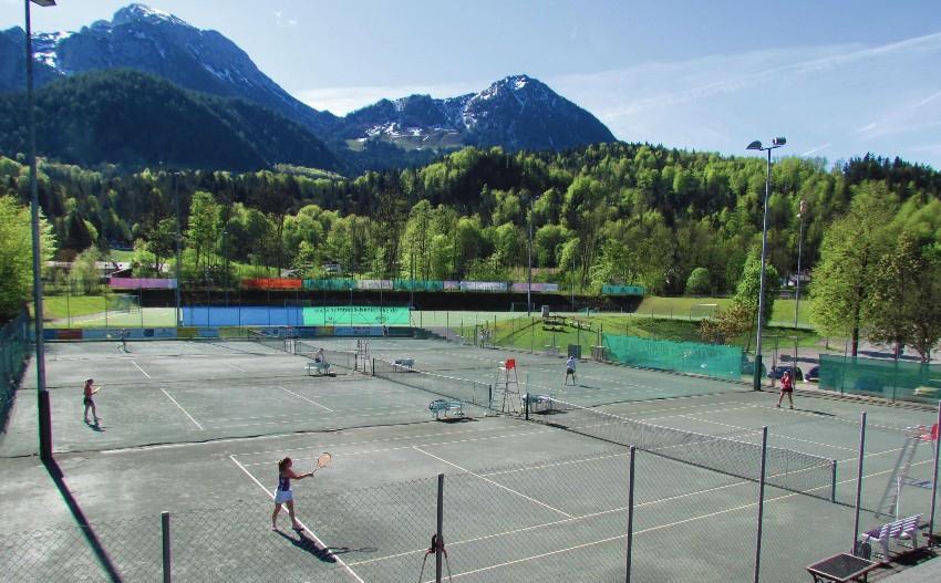 Tennisplatz Schoenau 2