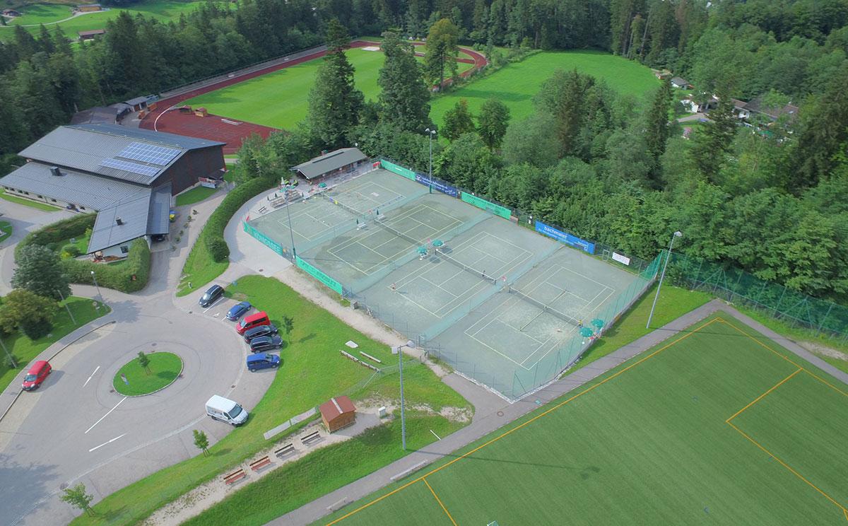 Tennisplatz Schoenau 5