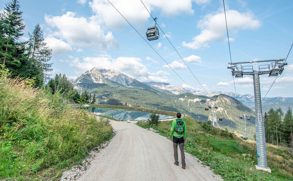 Klettersteig Jenner : Speicherteich rundweg jenner
