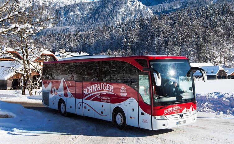 Schwaiger Bus im Winter